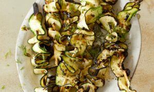 Zucchini 'Burnt Ends' With Herb Butter and Lemon