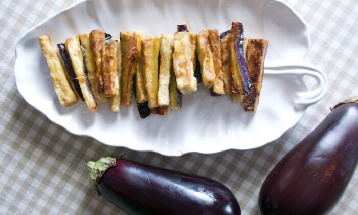 With their crisp outsides and tender, creamy insides, these fried eggplants are irresistible.