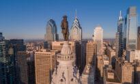 Philadelphia City Hall Graces the City's Center