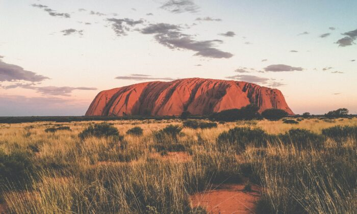 Uluru at the Uluru-Kata Tjuta National Park in Northern Territory, Australia. (Unsplash)