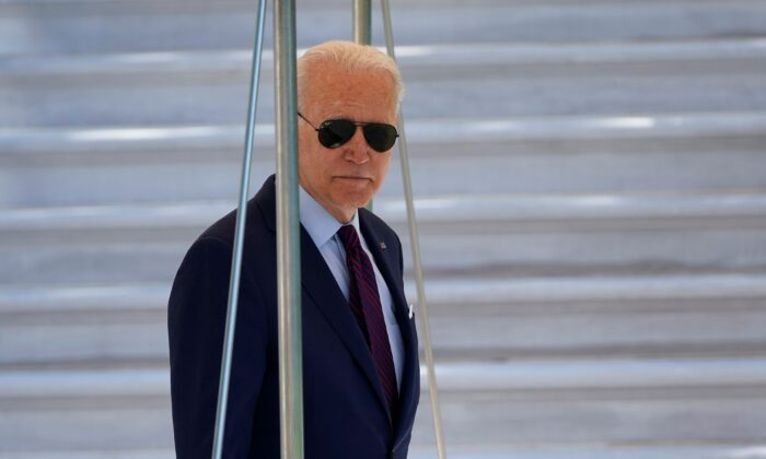 President Joe Biden walks to Marine One in Washington on June 29, 2021. (Susan Walsh/AP Photo)