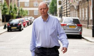 Harassment of England's Chief Medical Officer Prompts Security Questions