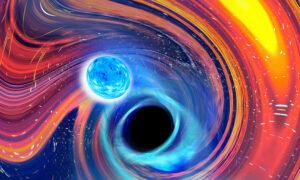 Cosmic Gulp: Astronomers See Black Hole Swallow Neutron Star
