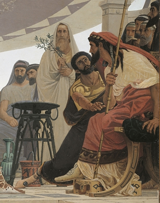 Nestor and Agamemnon
