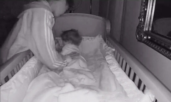 Baby Monitor Captures 15-Year-Old Boy Comforting His Baby Sister in the Middle of the Night
