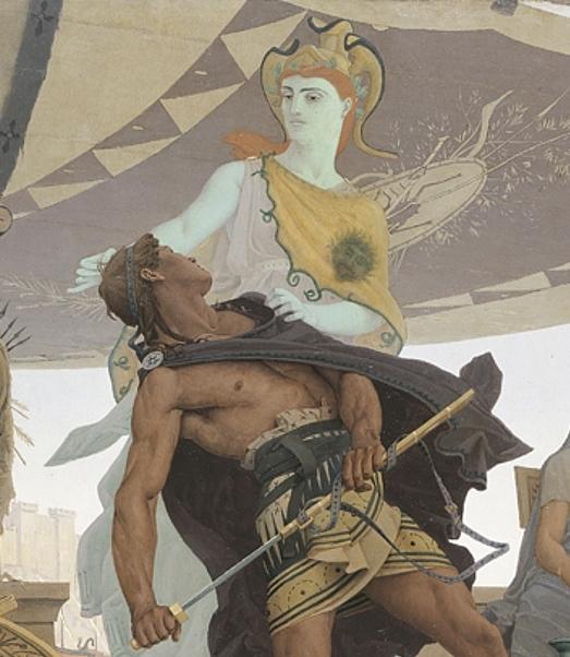 Achilles and Athena