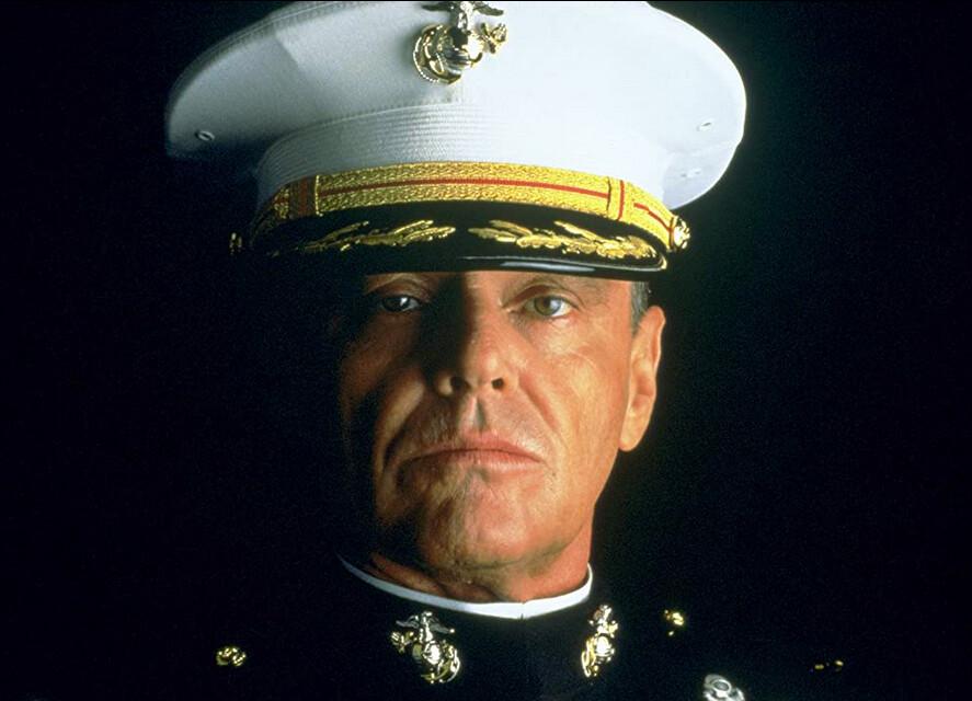 A marine colonel in A Few Good Men