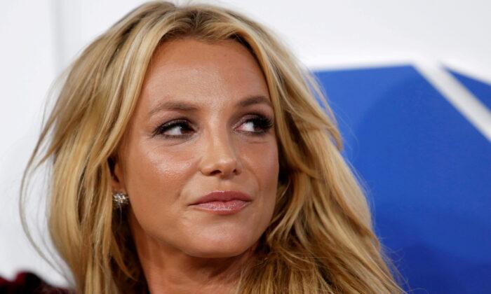 Singer Britney Spears arrives at the 2016 MTV Video Music Awards in New York on Aug. 28, 2016. (Eduardo Munoz/Reuters)