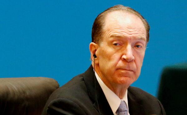 World Bank Governor David Malpass