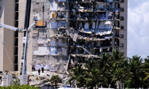 LIVE: Officials Give Update On Florida Condo Collapse