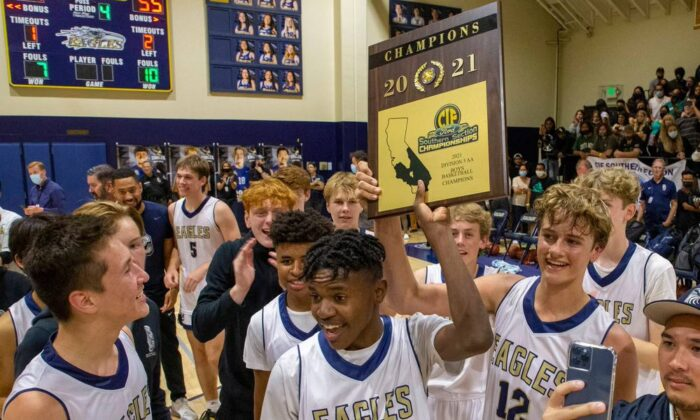 Calvary Chapel High School in Santa Ana, Calif. set a school record during the 2020-21 school year, winning seven league championships. (Courtesy of Calvary Chapel High School)
