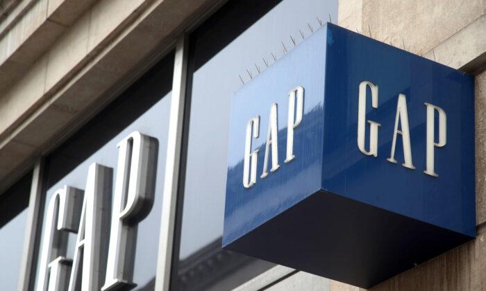 A branch of Gap in London, UK, on May 29, 2018. (Yui Mok/PA)