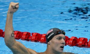 Caeleb Dressel Joins Elite Club With 5th Olympic Gold Medal