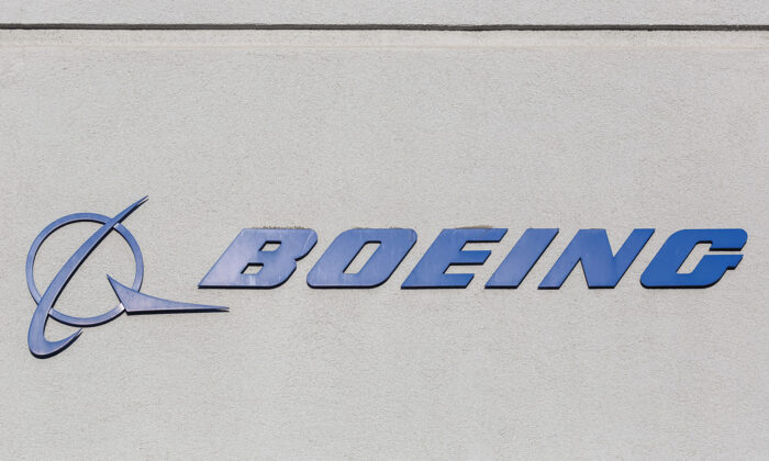 Boeing logo on a building at Los Angeles International Airport. (Markus Mainka/Dreamstime/TNS)