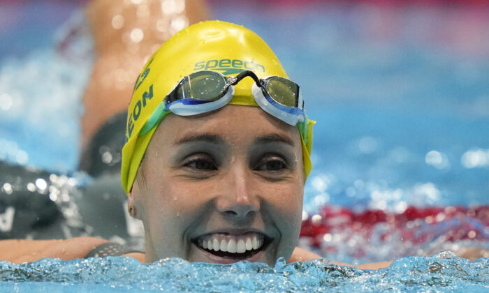 Aussie McKeon Wins Record 7th Medal With Relay Gold