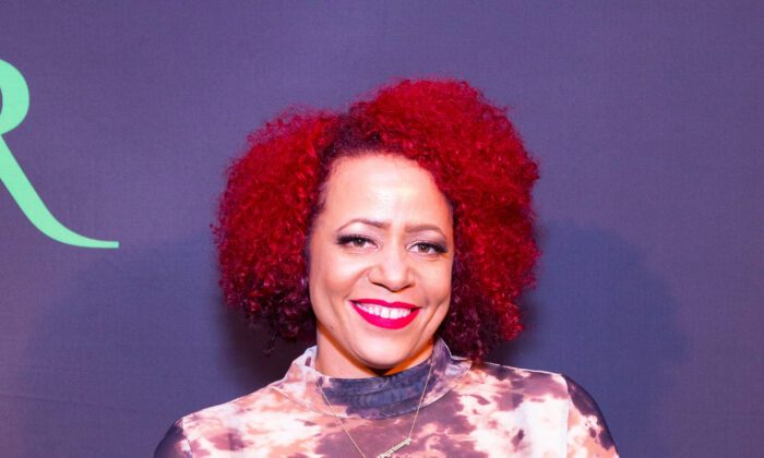 Nicole Hannah-Jones attends 2019 ROOT 100 Gala at The Angel Orensanz Foundation in New York City, on Nov. 21, 2019. (Photo by Arturo Holmes/Getty Images)