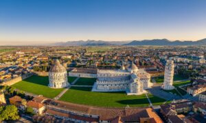 The Cathedral Square of Pisa