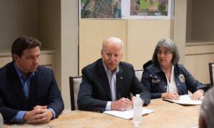 'You've Been Very Supportive': Biden and DeSantis Meet as President Surveys Miami Condo Collapse