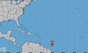 Tropical Storm Elsa, 5th Named Storm, Forms in Atlantic