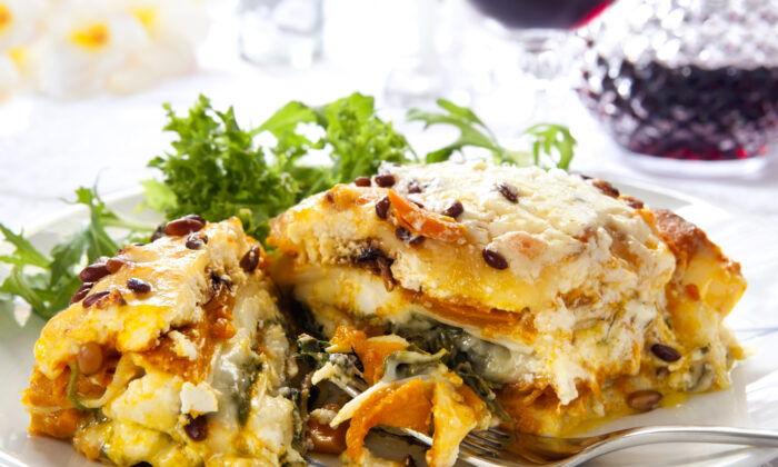 This hearty lasagna is nutritious enough that you won't have to change the recipe at all. (Robyn Mackenzie/Shutterstock)