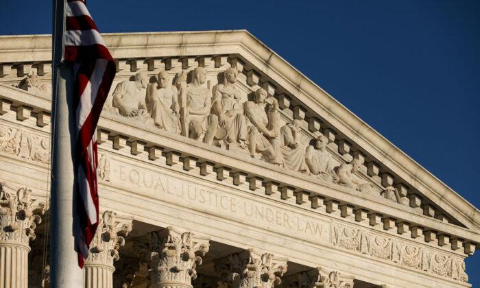 The Supreme Court in Washington on Sept. 21, 2020. (Samira Bouaou/The Epoch Times)