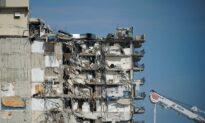 Officials Discuss Demolishing Partially Collapsed Florida Condo Building