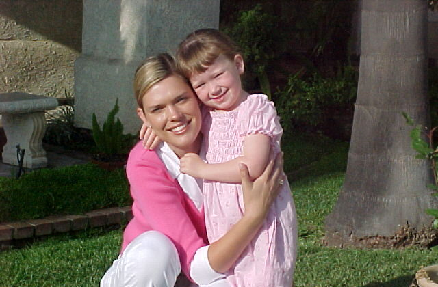 Lene Righeimer is pictured with her four-year-old daughter, Rebecca, who died from an undetected genetic cardiac arrhythmia. (Courtesy of Lene Righeimer)