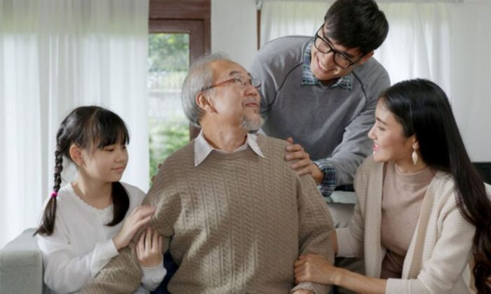 A family in a file photo. (Shutterstock)