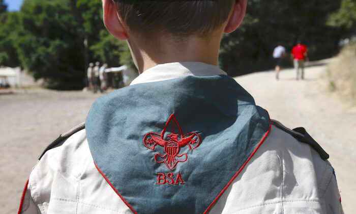 File photo of a Boy Scout. (George Frey/Getty Images)