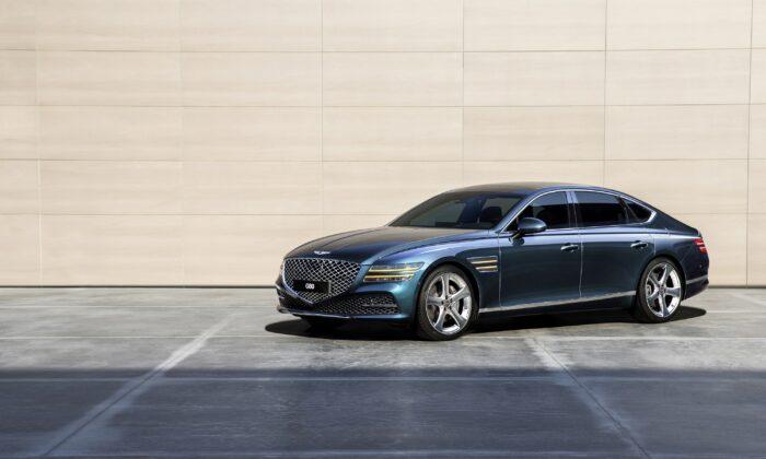2021 Genesis V80. (Courtesy of Genesis)