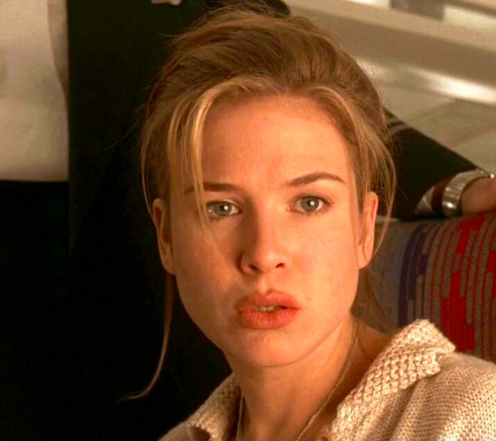 """blonde woman in """"Jerry Maguire"""""""
