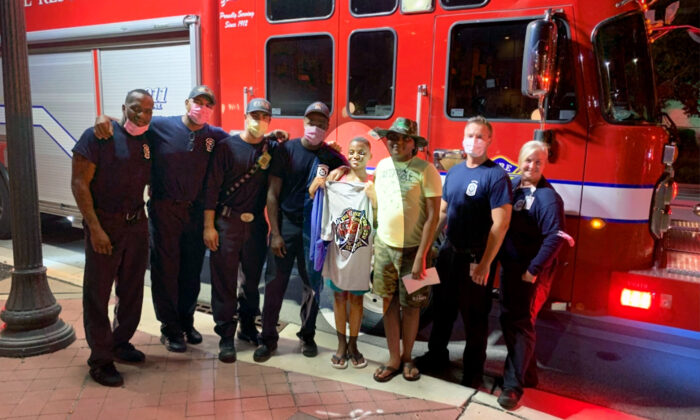 (Courtesy ofFort Lauderdale Fire Rescue)