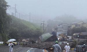 2 Dead, 20 Missing in Japan After Heavy Rain Triggers Landslide Near Tokyo
