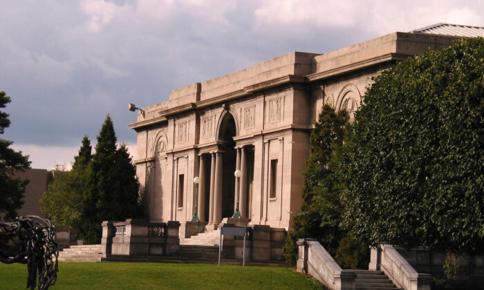 The original Gallery building, which opened in October 1913, was given in trust to the University of Rochester by Emily Sibley Watson in memory of her son. (Richard P. Wersinger)