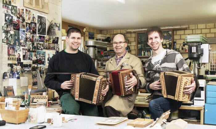 Samuel Reist, Hansruedi Reist, and Richard Reist. (Reist AG)