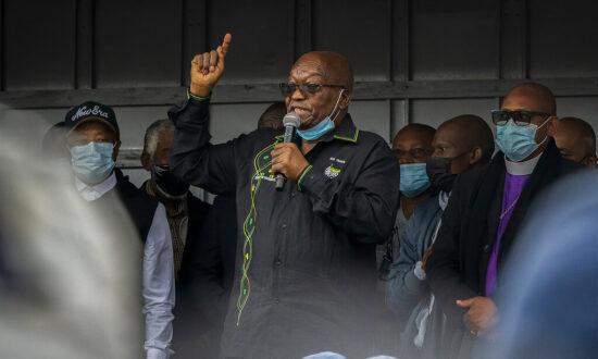 South Africa's Ex-President Zuma Says He'll Appeal Jail Term