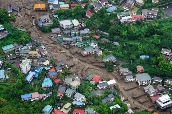 Japan's Leader Pushes Rescue After Deadly Mudslide Hits Town