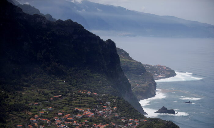 The small village of Arco de Sao Jorge on Madeira's north coast, Portugal, on March 30, 2017. (Rafael Marchante/Reuters)