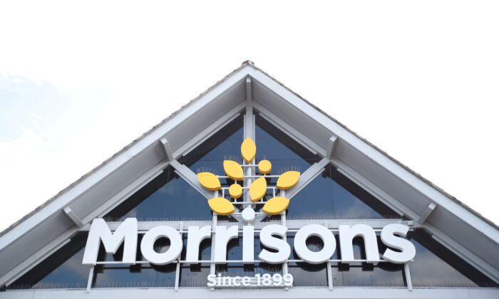 A Morrisons store is pictured in St. Albans, United Kingdom, on Sept. 10, 2020. (Peter Cziborra/Reuters)