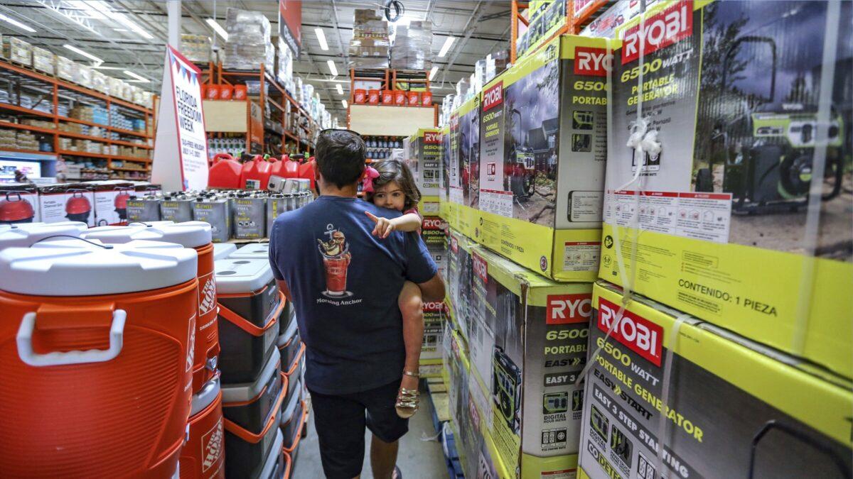 Home Depot Shopping