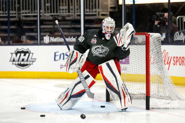Goaltender Matiss Kivlenieks #80
