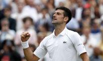 Djokovic Rolls Into Wimbledon Quarters With Garin Thrashing