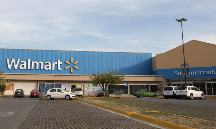 View of a Walmart store in Monterrey, Mexico on Dec. 7, 2016. (Julio Cesar Aguilar/AFP via Getty Images)