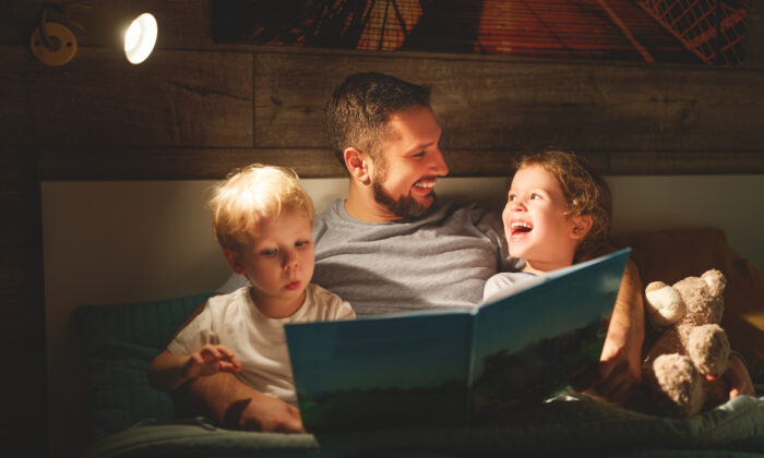 End the day with a bedtime story. It will put a smile on your child's face. (Evgeny Atamanenko/Shutterstock)