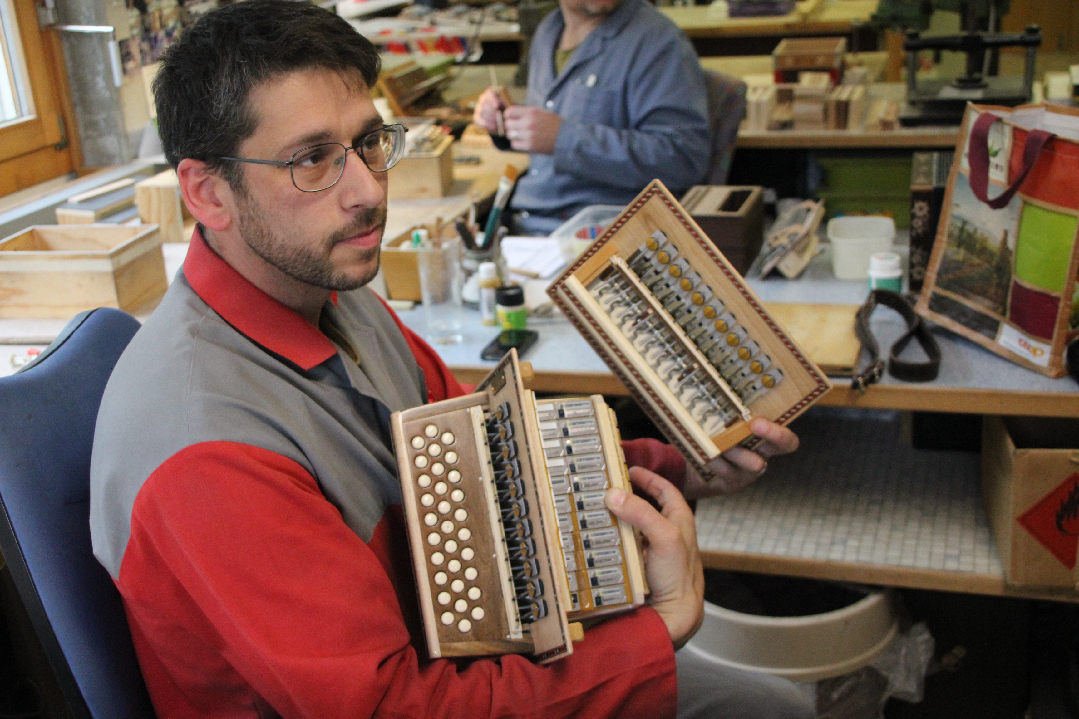 each instrument has 3500 separate parts copyright Wibke Carter