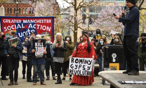 kill the bill protest manchester