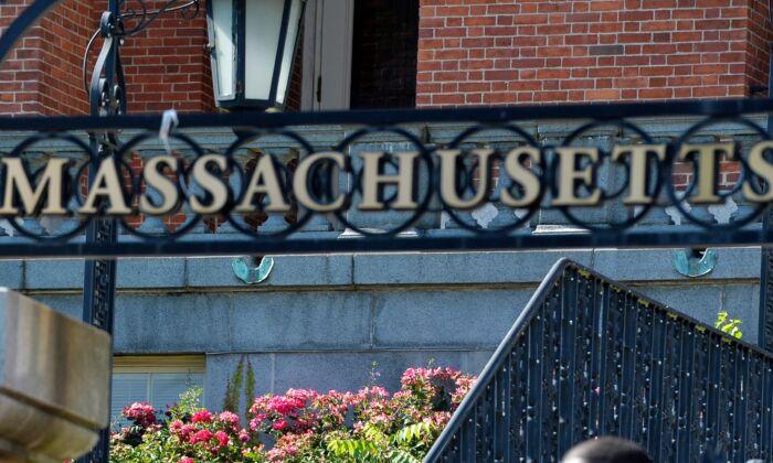 The statehouse in Boston, Massachusetts on June 22, 2020. (Joseph Prezioso/AFP via Getty Images)