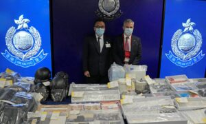 6 Students Among 9 Arrested in Alleged Hong Kong Bomb Plot