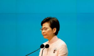 Hong Kong Leader Says 'Ideologies' Pose Security Risk Amid Escalating Clampdown on Freedoms