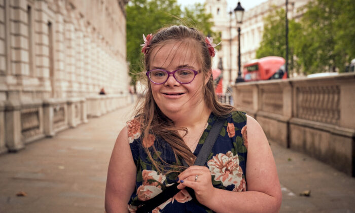 Heidi Crowter, who has Down's syndrome, is taking legal action against the UK government over part of the 1967 Abortion Act, which applies in Great Britain. Undated file photo. (JerseyroadPR/PA)